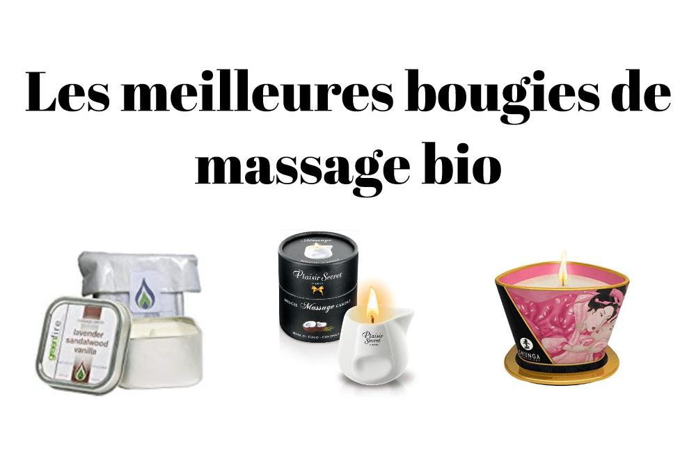 Les meilleures bougies de massage bio