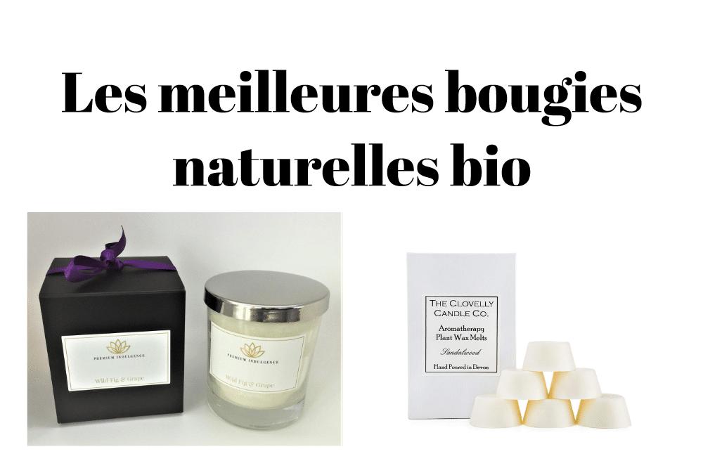 Les meilleures bougies naturelles bio