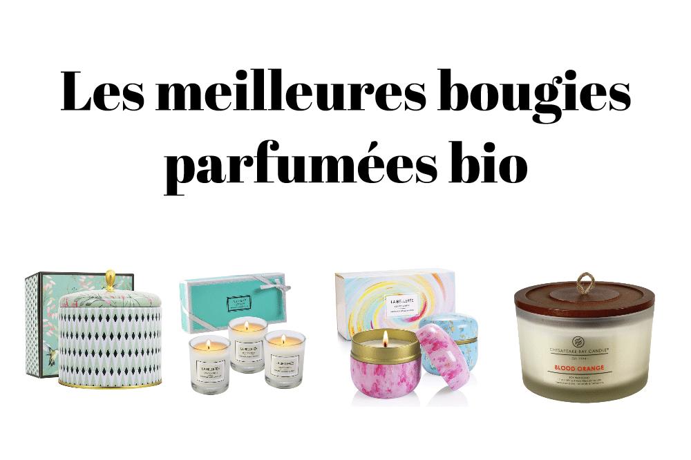 Les meilleures bougies parfumées bio