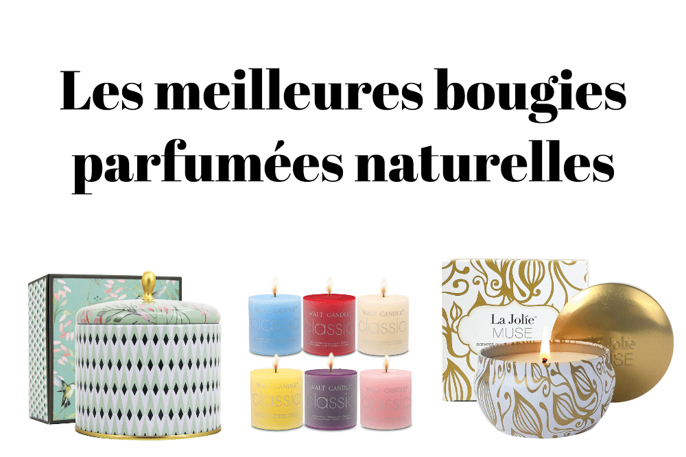 Les meilleures bougies parfumées naturelles
