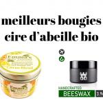 Les meilleurs bougies à la cire d'abeille bio