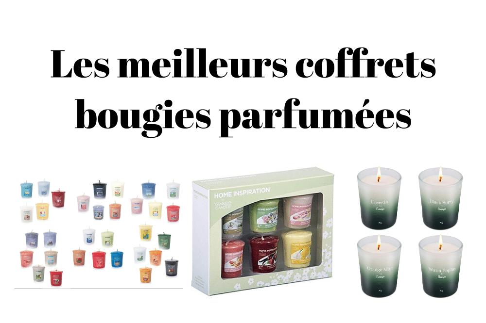 Les meilleurs coffrets bougies parfumées