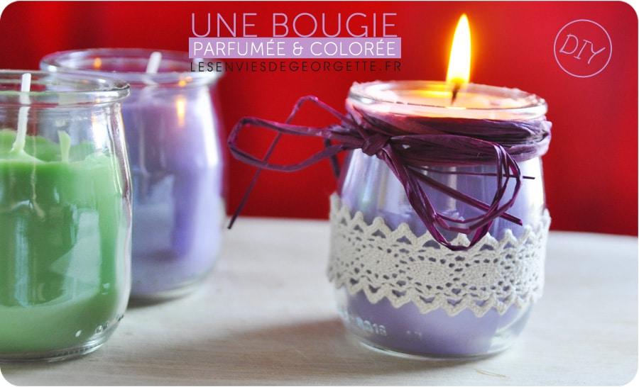 comment faire des bougies parfum es color es bougies. Black Bedroom Furniture Sets. Home Design Ideas