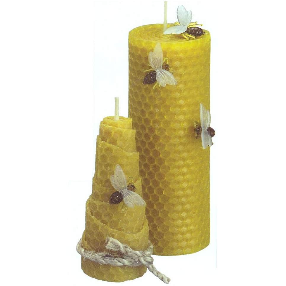 bougies roul es la cire bougies bio et naturel. Black Bedroom Furniture Sets. Home Design Ideas