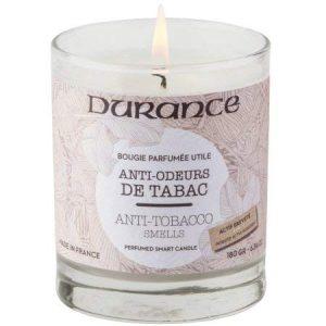DURANCE Bougie Parfumée Anti-Odeurs de Tabac