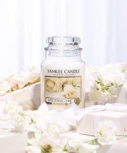 Yankee Candle bougie jarre parfumée, Jour de noce