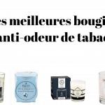 Les meilleures bougies anti-odeur de tabac