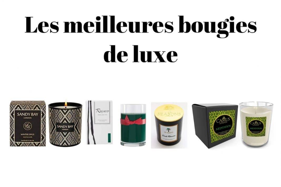 Les meilleures bougies de luxe
