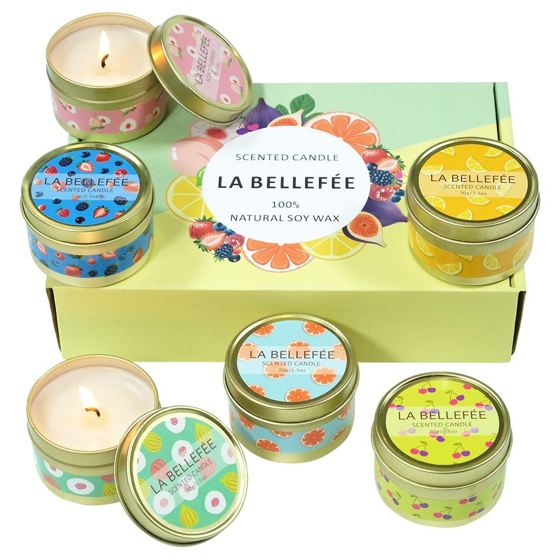 Les bougies de la marque La Bellefée