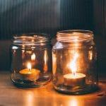 Que faire des contenants à bougies une fois finis ?