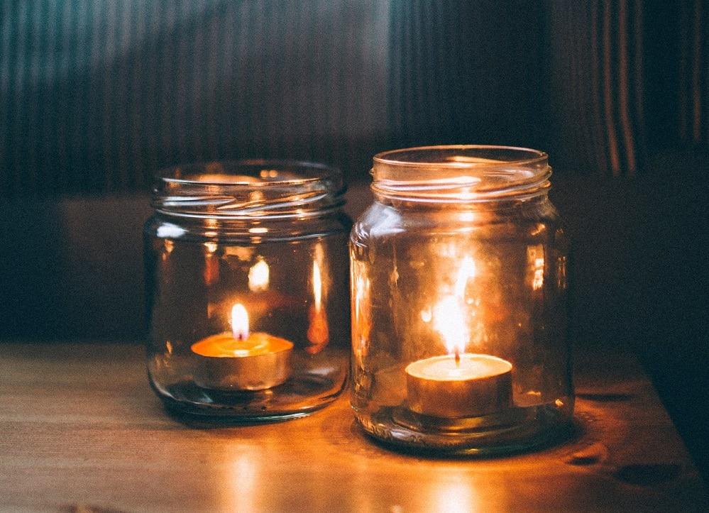Que faire des contenants des bougies une fois finies ?