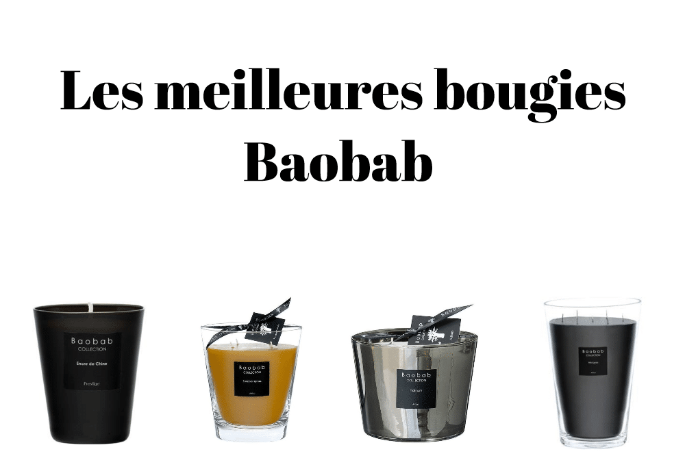 Les meilleures bougies Baobab
