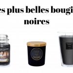 Lesplus belles bougies noires