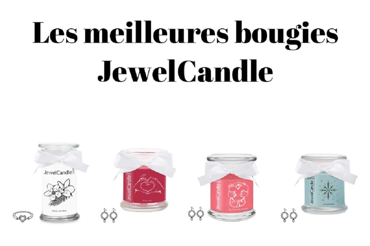 Les meilleures bougies JewelCandle