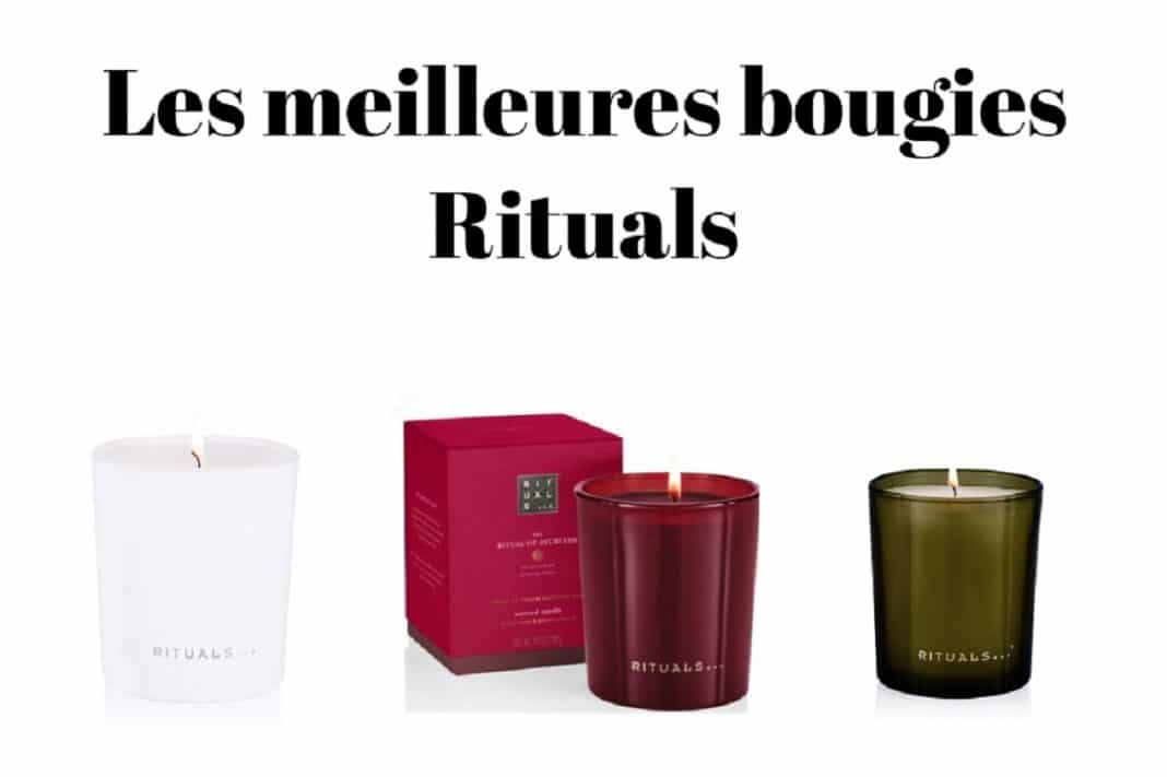 Les meilleures bougies Rituals